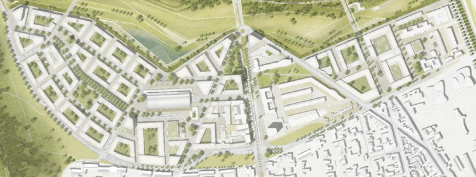 Die Parkstadt Süd in Köln ist aktuell das größten innerstädtischen Bauprojekte Europas