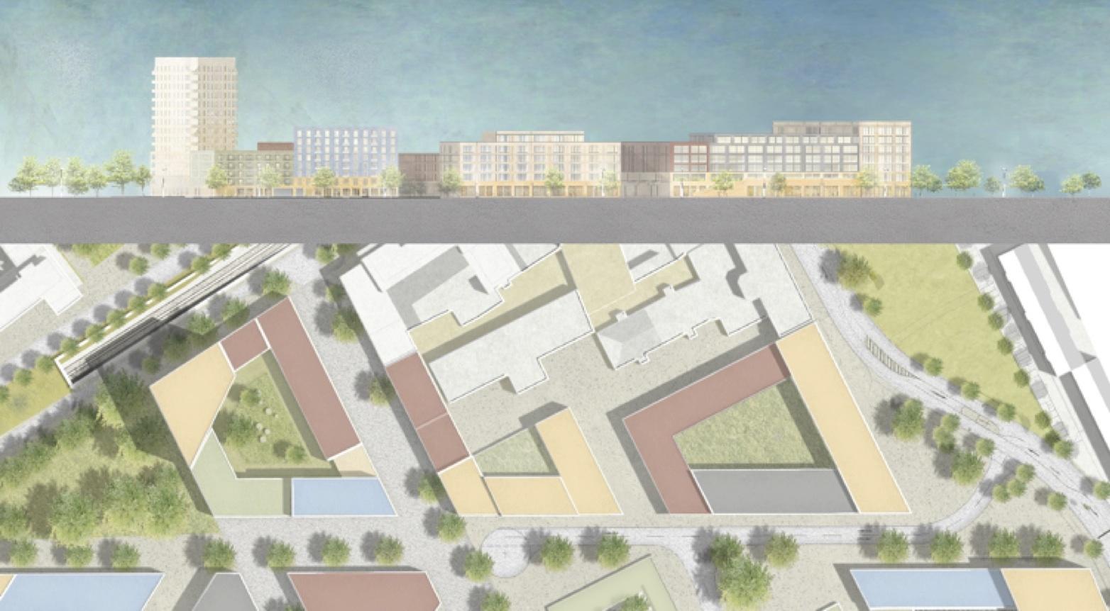 """""""Wir kümmern uns nicht um die Baulücke, mit dem gerne junge Architekten als """"Übung"""" belohnt werden. Sondern wir bauen unsere Stadt. Wir zeichnen große Blöcke und wünschen uns das Innen und Außen. Wir lieben Plätze, Boulevards und Gassen."""
